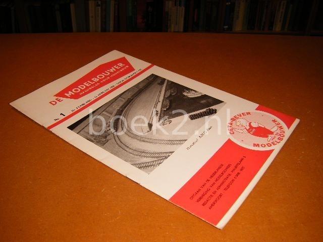 RED. - De Modelbouwer, Maandblad voor Modelbouw, 21e jaargang no. 1, 15 Januari 1959.