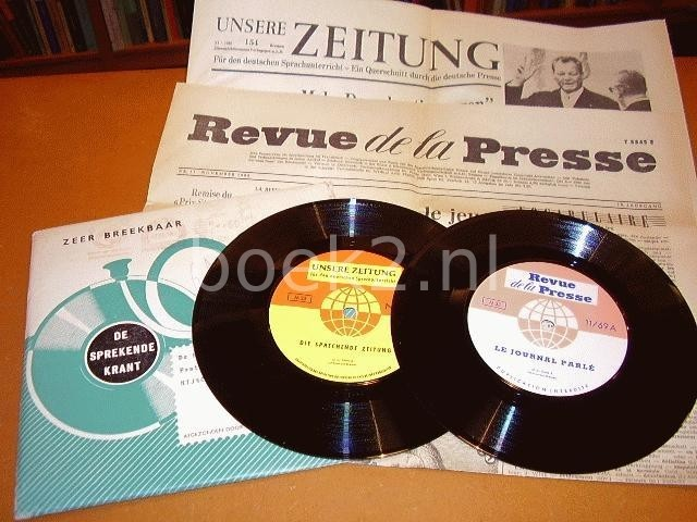 EILERS & SCHUNEMANN - De Sprekende Krant / Unsure Zeitung Die Sprechende Zeitung / Revue de la Presse Le Journal Parle