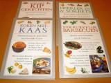 4-kleine-kookboekjes-koken-met-kaas-heerlijk-ijs--sorbets-verrukkelijk-barbecuen-heerlijke-kip-gerechten-isbn-9052952663--905295