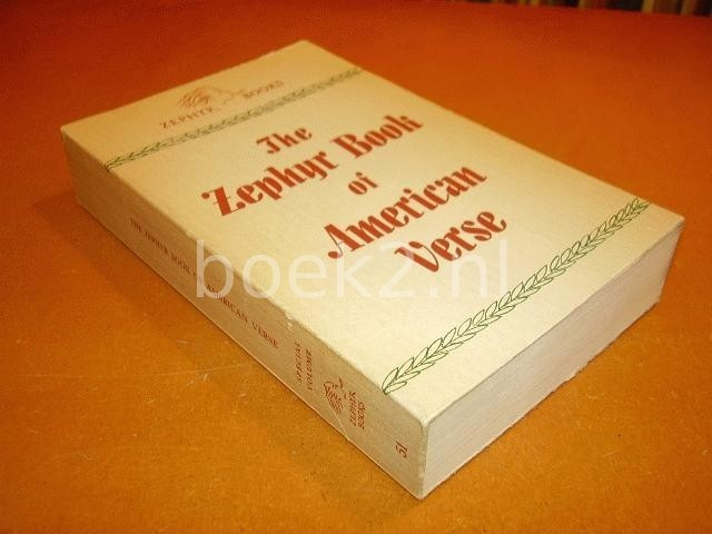 DALIN, EBBA (ED.) - The Zephyr Book of American Verse