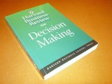 harvard-business-review-on-decision-making