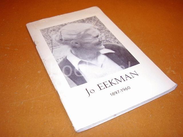 Jo Eekman 1897-1960