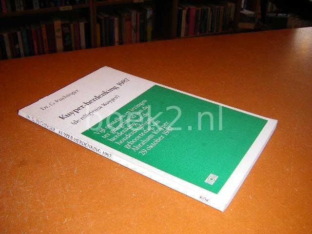 Kuyper - Herdenking 1987. (...