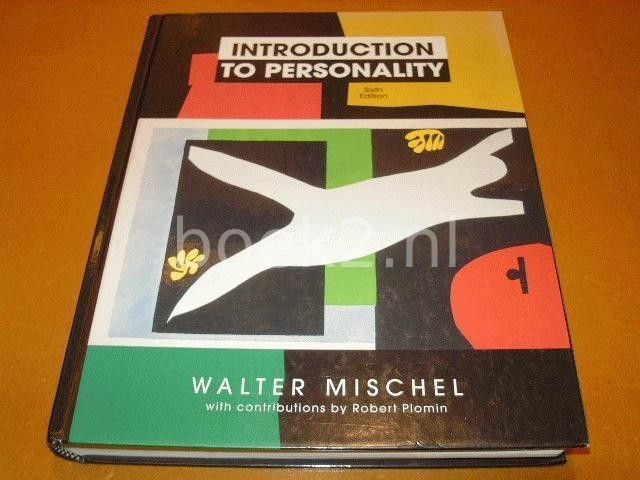 MISCHEL, WALTER - Introduction to personality :
