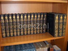 De dichtwerken van Bilderdijk I t/m XV + De Dichtwerken van Vrouwe Katharina Wilhelmina Bilderdijk I t/m III + De mensch en dichter Willem Bilderdijk. Eene bijdrage tot de kennis van zijn leven, karakter, en schriften