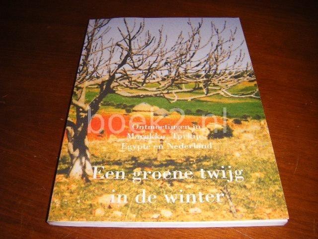 ZUIDBERG, GERARD (INLEIDING). - Een groene twijg in de winter. Ontmoetingen in Marokko, Turkije, Egypte en Nederland, drie reisverhalen.