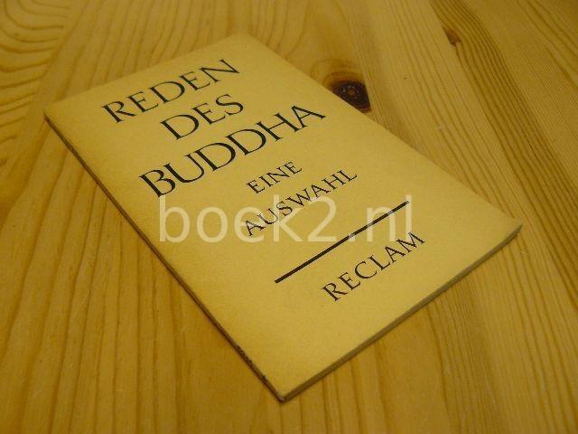 Reden des Buddha, eine auswahl