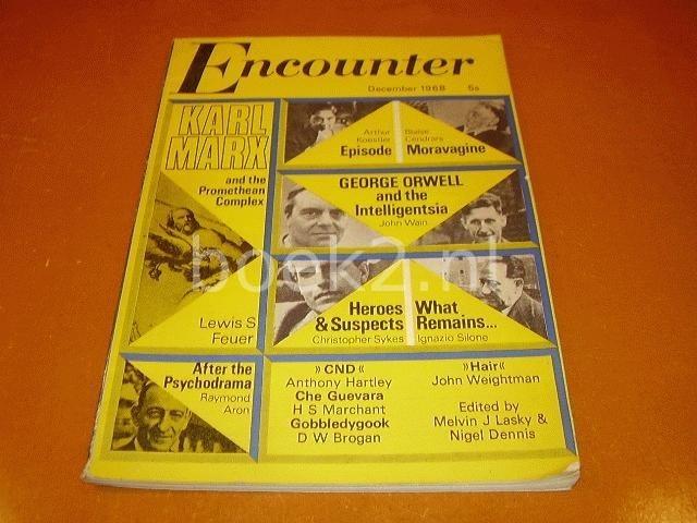 LASKY, MELVIN J. & NIGEL DENNIS (EDITORS) - Encounter, December 1968