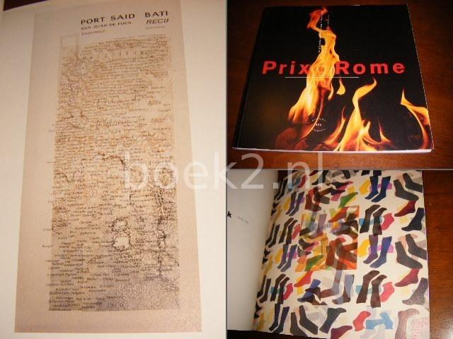 - Prix de Rome 1988. Grafische vormgeving/grafiek.