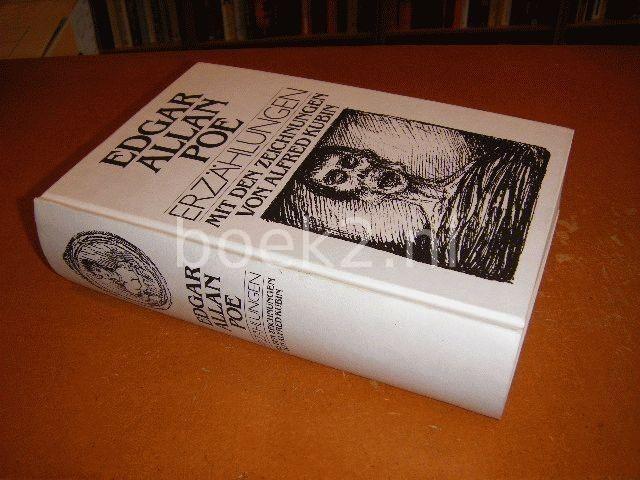 POE, EDGAR ALLAN - Erzahlungen, mit den zeichnungen von Alfred Kubin