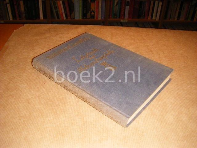 LASKER, EMANUEL - Lehrbuch des Schachspiels. Mit 312 Diagrammen.
