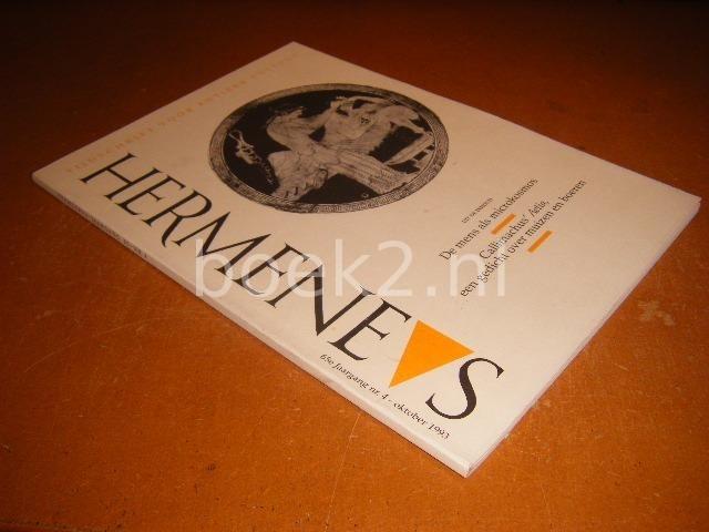 REDACTIE - Hermeneus, tijdschrift voor antieke cultuur, Uit de inhoud De mens als microkosmos en Callimachus`Aetia, een gedicht over muizen en boeren