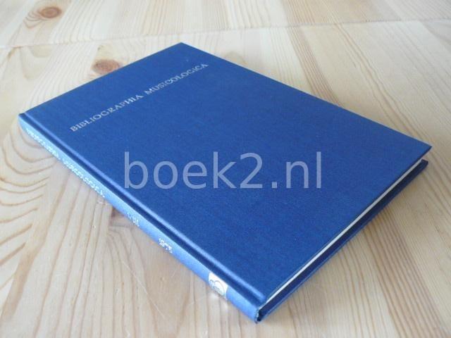 EDITORS - Bibliographia Musicologica 1975