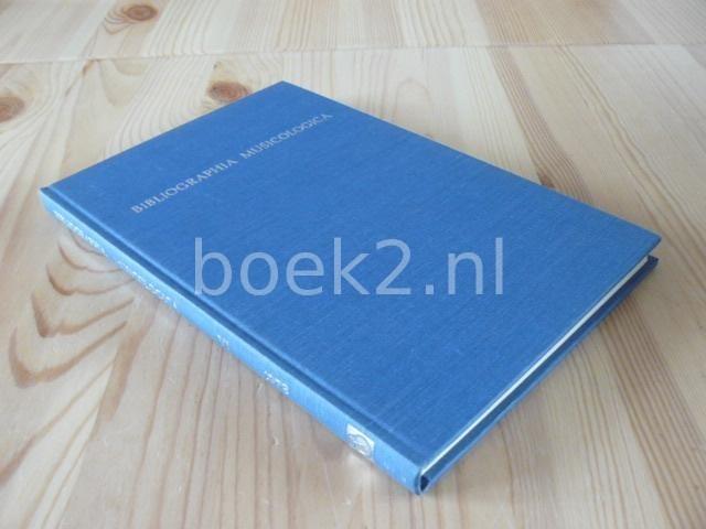EDITORS - Bibliographia Musicologica 1973