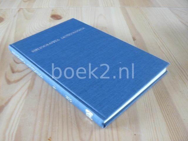 EDITORS - Bibliographia Musicologica 1970
