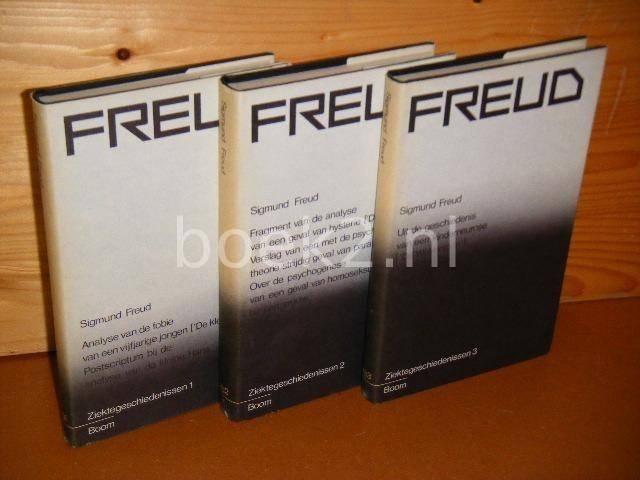 FREUD, SIGMUND. - Ziektegeschiedenissen (DEEL 1, 2 en 3)