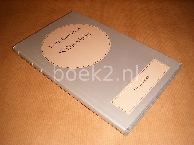 COUPERUS, LOUIS - Williswinde [Volledige Werken, Deel 10]