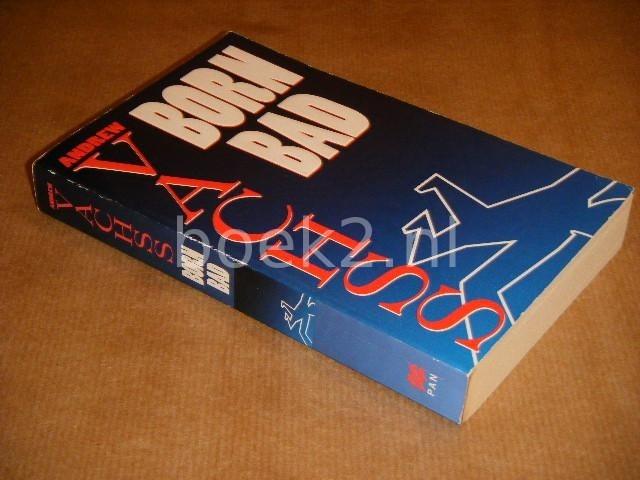 VACHSS, ANDREW. - Born Bad. Stories.
