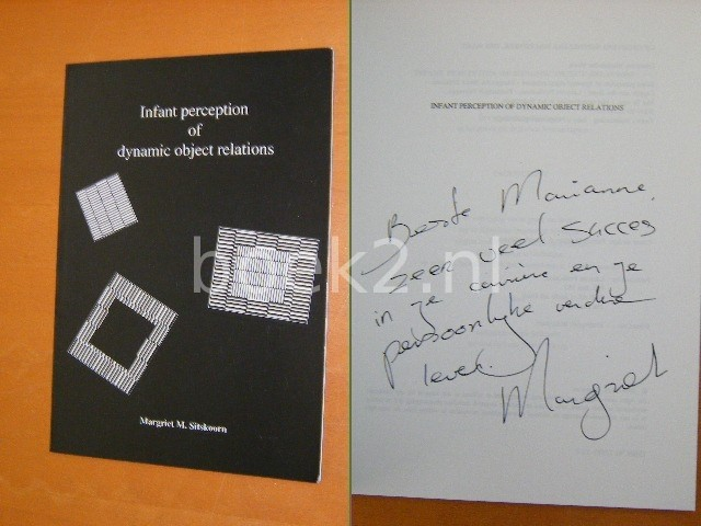 MARGRIET M. SITSKOORN - Infant perception of dynamic object relations [GESIGNEERD]