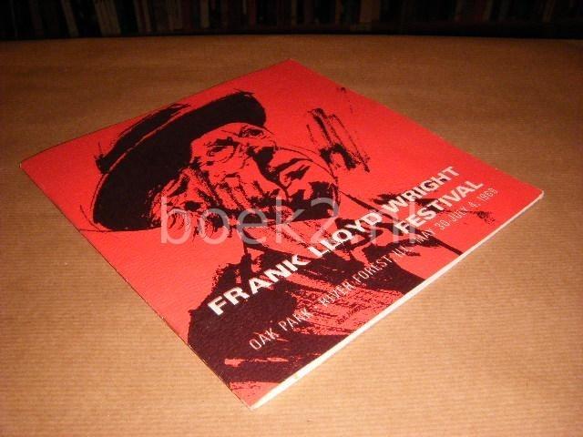 Frank Lloyd Wright Festival...