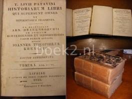historiarum--libri-et-deperditorum-fragmenta-ec-rec-a-drakenborchii-ed-it-kreyssig-ed-stereotypa-lib-138-4-parts-of-6-in-2-vols