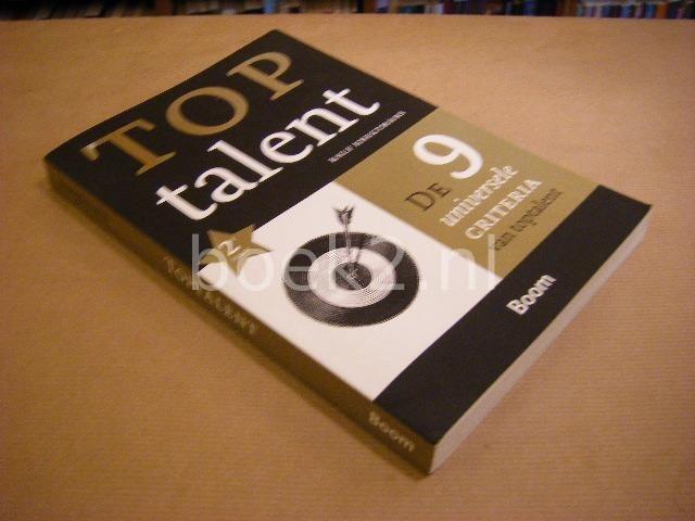 KNEGTMANS, RALF - Top Talent - De 9 Universele Criteria van Toptalent