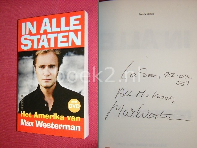 MAX WESTERMAN - In alle staten, Het Amerika van Max Westerman [GESIGNEERD, met DVD]