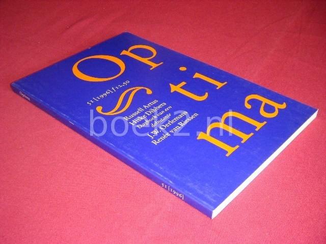 ARJAN PETERS EN MICHAEL ZEEMAN (RED.) - Optima, nummer 51, 1996 [Met bijdragen van onder anderen Hiske Dibbets en J.W. Oerlemans]