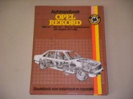 autohandboek-opel-rekord-1698-cm--1897-cm--1979-cm-benzinemotoren-alle-modellen-19771982-sleutelboek-voor-onderhoud-en-reparatie