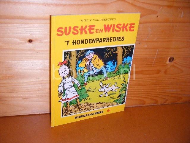 VANDERSTEEN, WILLY. - Suske en Wiske. `t Hondenparredies. [Nieuwsblad van het Noorden]