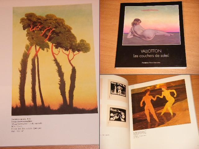 VALLOTTON, FELIX & RUDOLF KOELLA. - Felix Vallotton. Les Couchers De Soleil./ Die Sonnenuntergange.