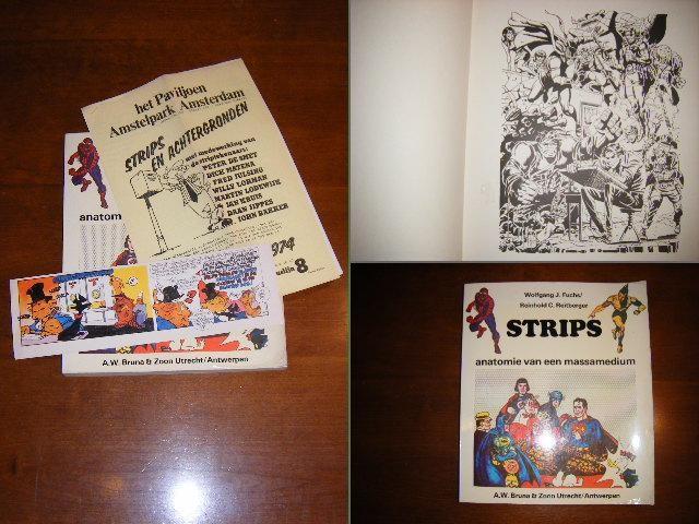 FUCHS, WOLFGANG J. EN REITBERGER, REINHOLD C. - Strips, anatomie van een massamedium