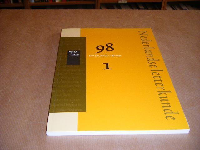 RED.; VAN DEN AKKER, W.J. - Nederlands Letterkunde. 98 Driemaandelijks Tijdschrift 1.