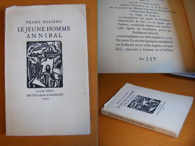 HELLENS, FRANZ - Le Jeune Homme Annibal, Roman