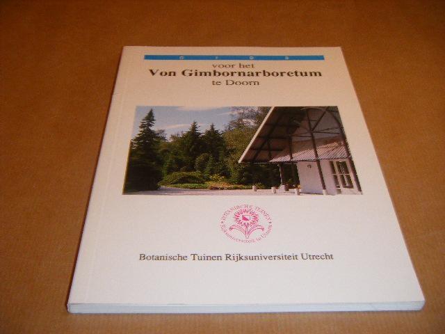 RED. - Gids voor het Von Gimbornarboretum te Doorn