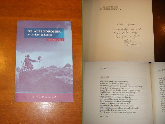 ZUIDEN, HENK VAN - De Alpendromer en andere gedichten