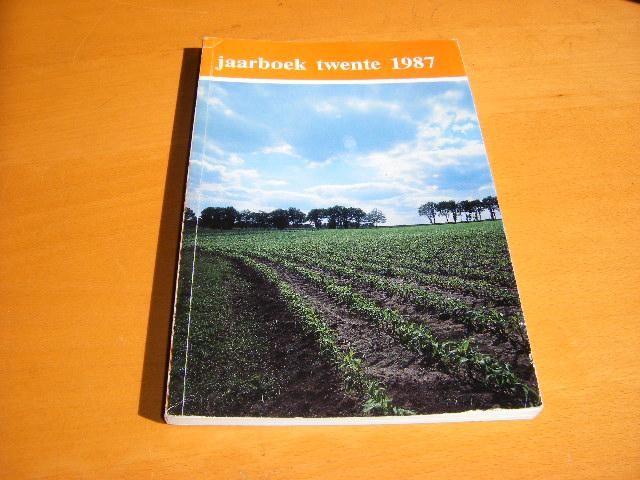 HEIDEMAN, AREND (RED) - Jaarboek TWENTE 1987 [26e jaargang]