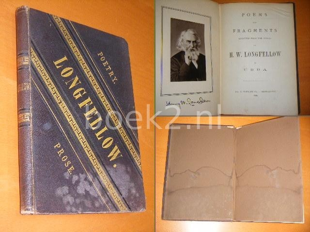 URDA - Poems and Fragments selected from the works of H.W. Longfellow.
