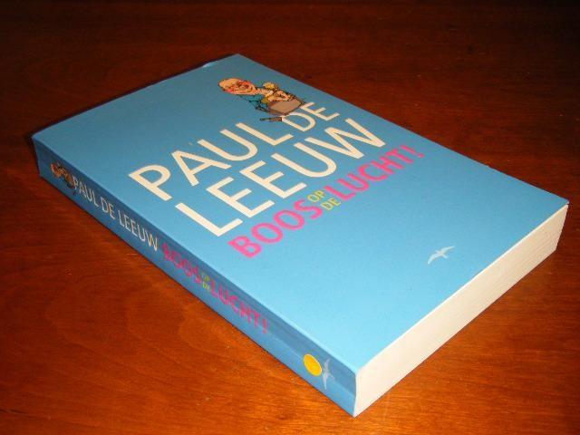 LEEUW, PAUL DE - Boos op de lucht!