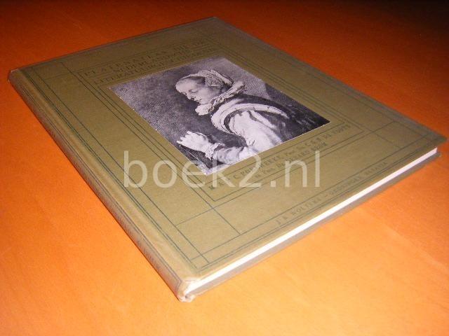 POELHEKKE, M.A.P.C., ET AL. - Platenatlas bij de Nederlandsche literatuurgeschiedenis.
