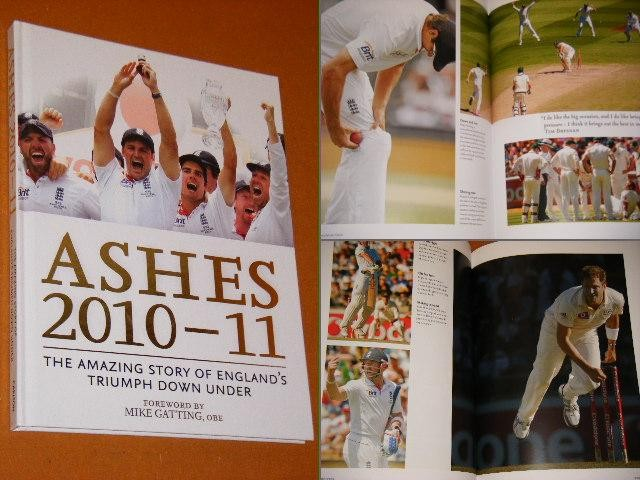 DEVINE, CHRIS. - Ashes 2010-2011.
