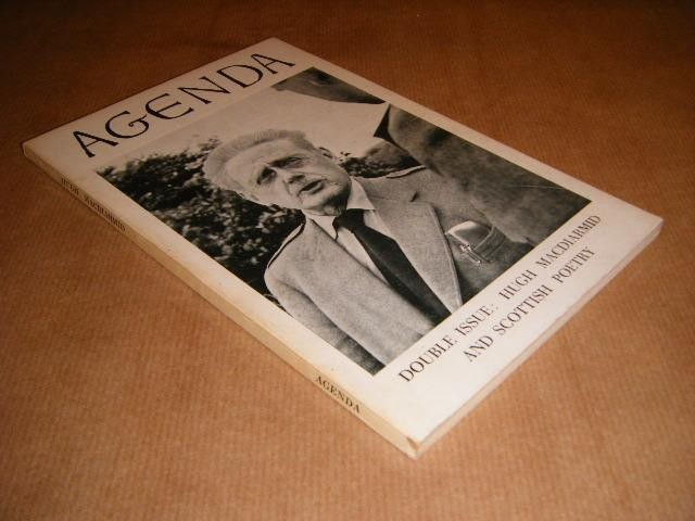 COOKSON, WILLIAM. (EDITOR) - Agenda. Double Issue: Hugh Macdiarmid and Scottish Poetry.