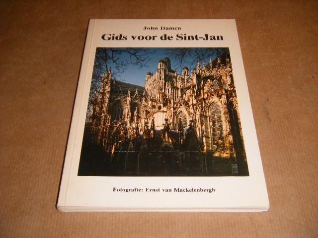 DAMEN, JOHN. - Gids voor de Sint-Jan. De kathedrale basiliek van Sint-Jan in `s-Hertogenbosch.