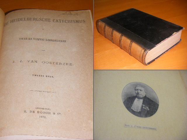 OOSTERZEE, J.J. VAN. - De Heidelbergsche Catechismus in wee en vijftig leerredenen.