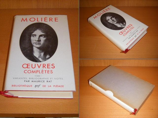 MOLIERE. - Oeuvres completes. Tome I. Variantes, bibliographie et notes par Maurice Rat.