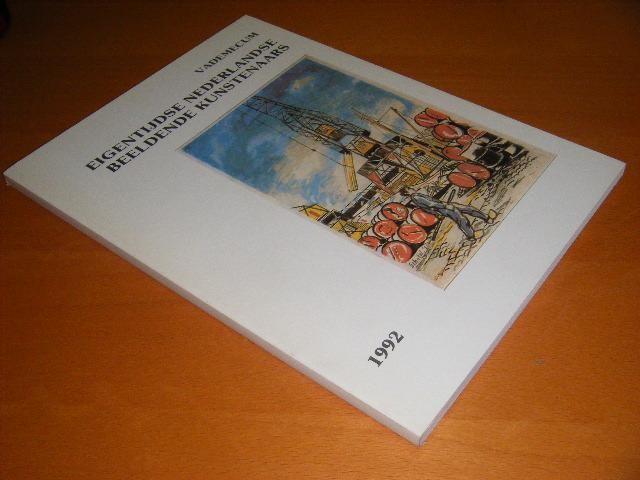 VADEMECUM. - Eigentijdse Nederlandse beeldende kunstenaars. 1992.
