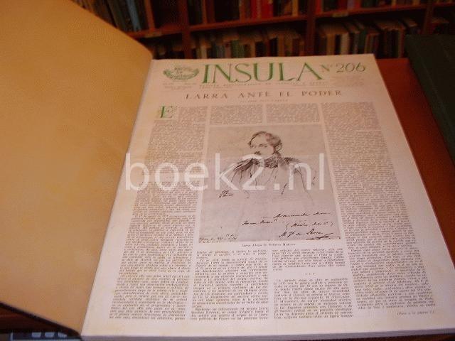 EDITORS - Insula of the years 1964: no. 206 t/m 217, 1965 no. 218 t/m 229, 1966 no. 230 t/m 241, 1967 no. 242 t/m 253