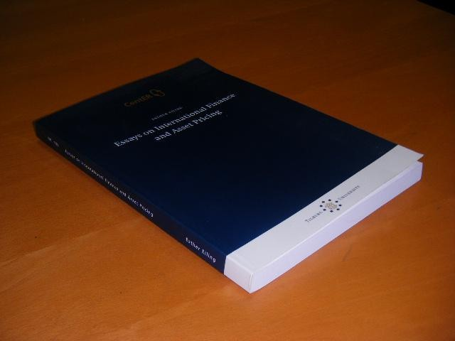 EILING, ESTHER. - Essays on International Finance and Asset Pricing.