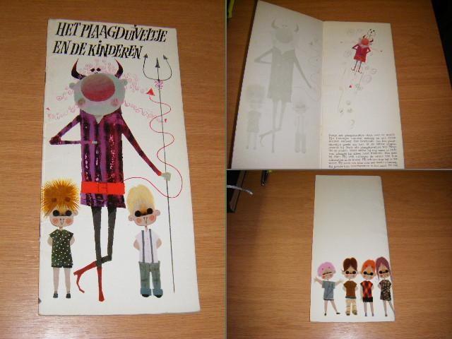 SMULDERS, LEA / LUZ DEL VADO - Het plaagduiveltje en de kinderen. Een Lampionboekje. [Lange Lampionboeken], Illustraties Acosta Moro