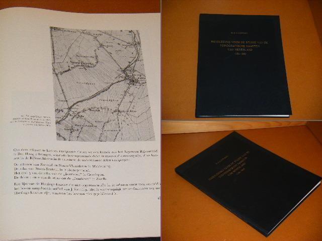 KOEMAN, DR. IR. C. - Handleiding voor de Studie van de Topografische Kaarten van Nederland 1750-1850.